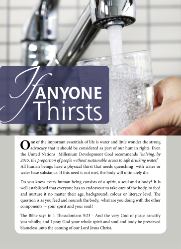 Tract - If anyone Thirsts