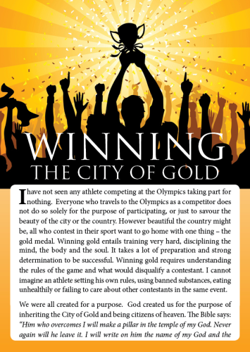 Tract - WINNING THE CITY OF GOLD