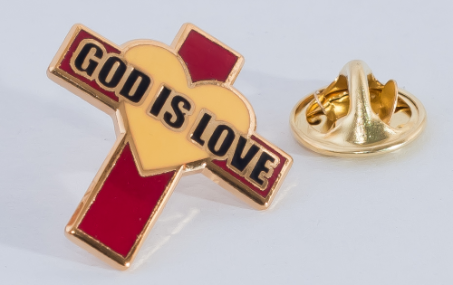 God is Love - Lapel pin