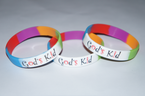 GOD'S KID WRISTBAND